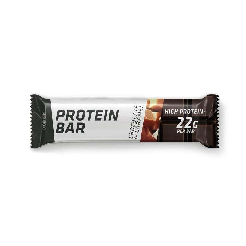 PROTEIN & KOSTTILLSKOTT Kost och Hälsa - PROTEIN BAR choklad-kola DOMYOS - Protein, Kosttillskott