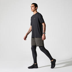 Los T-shirt Run Dry+ Feel zwart