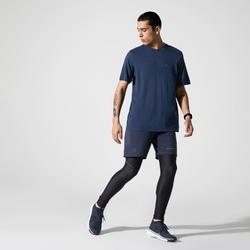 Hardloopbroek voor heren Run Dry+ zwart