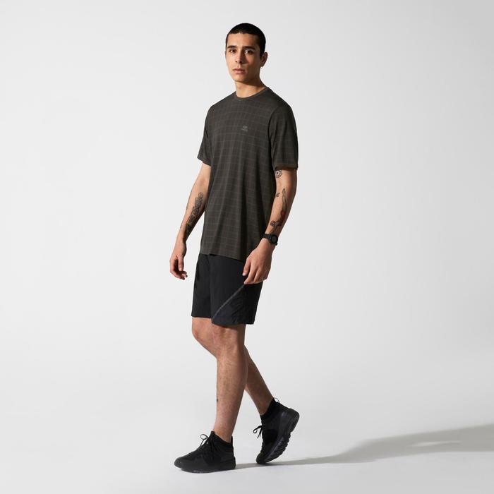 T-shirt coupe large Run Dry + Feel Khaki