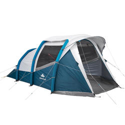 Inflatable Camping Tent AIR SECONDS 4.1 FRESH&BLACK | 4 People 1 Room