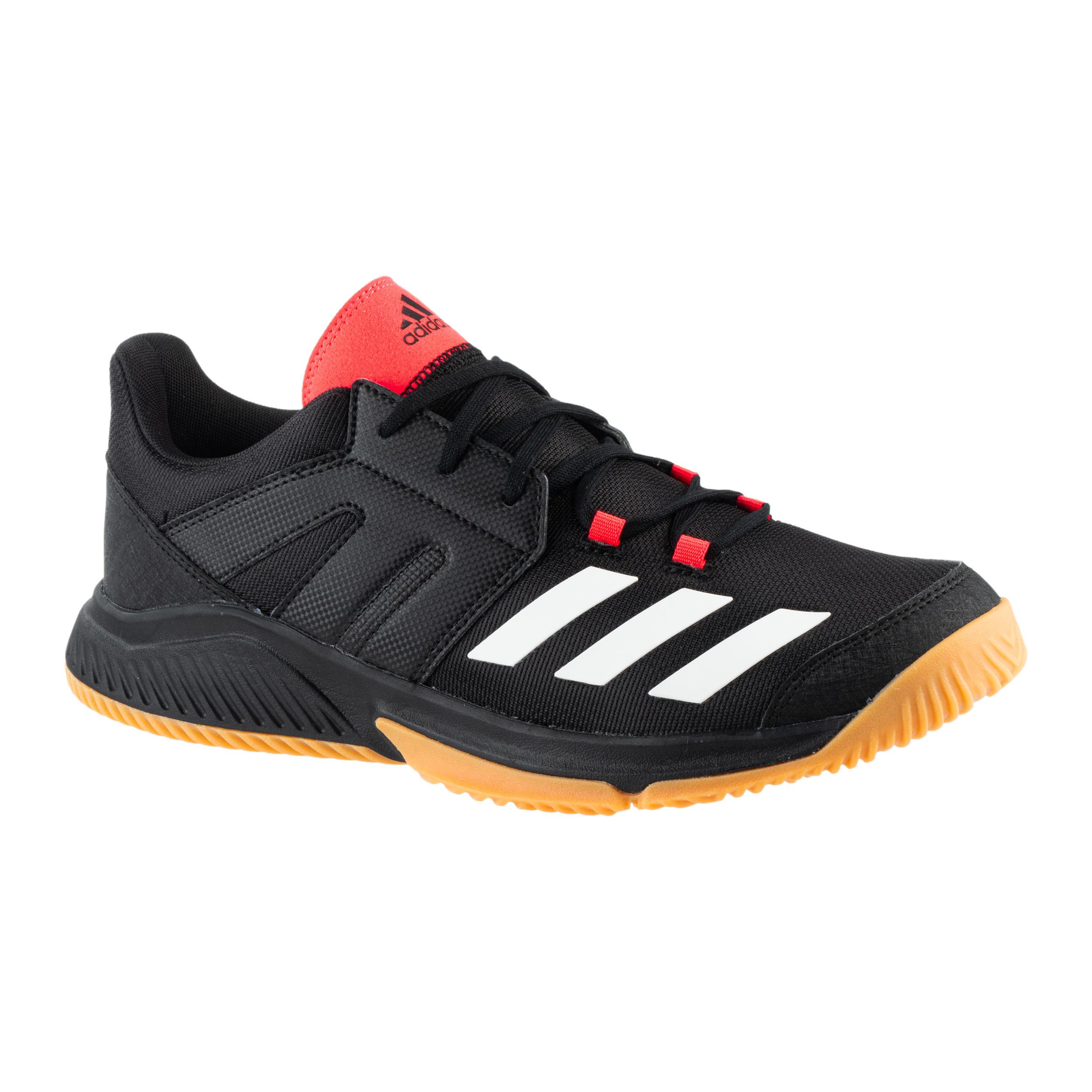 Handballschuhe Essence Herren schwarz/pink | Schuhe > Sportschuhe > Handballschuhe | Adidas