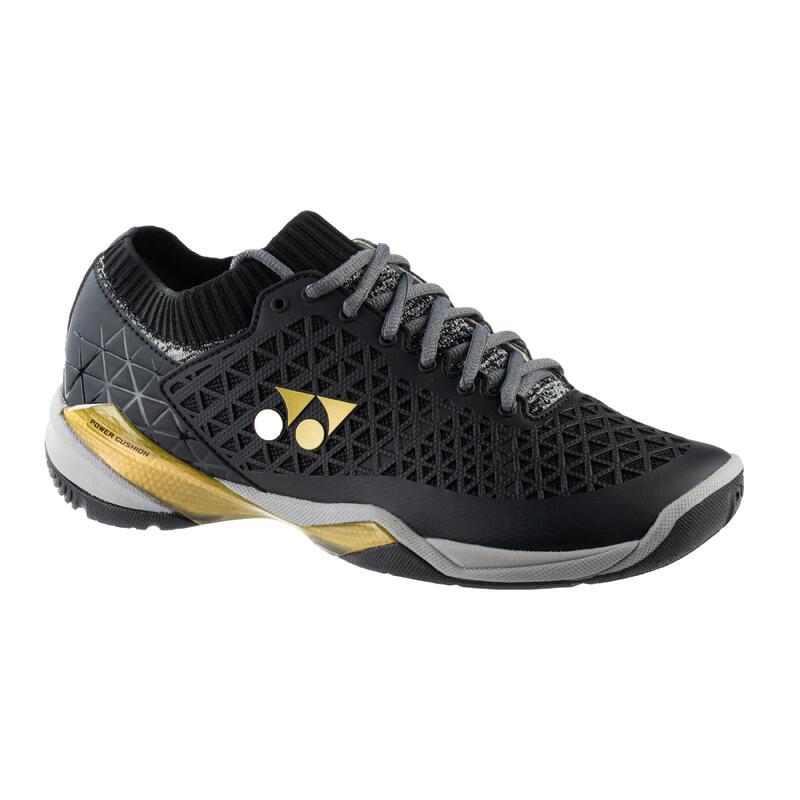 Chaussure de BADMINTON et sports INDOOR homme Yonex PC ECLIPSION Z Noir et Or
