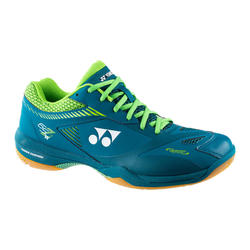 Chaussures de BADMINTON et sports INDOOR YONEX PC - 65 Z2 WIDE MARINE
