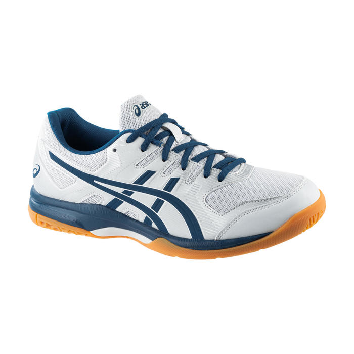 Chaussures de Badminton, Squash et Sports indoors Gel Rocket 9 Gris / Bleu