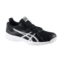 Badminton-/squashschoenen voor indoorsporten heren Upcourt 3 zwart/zilver