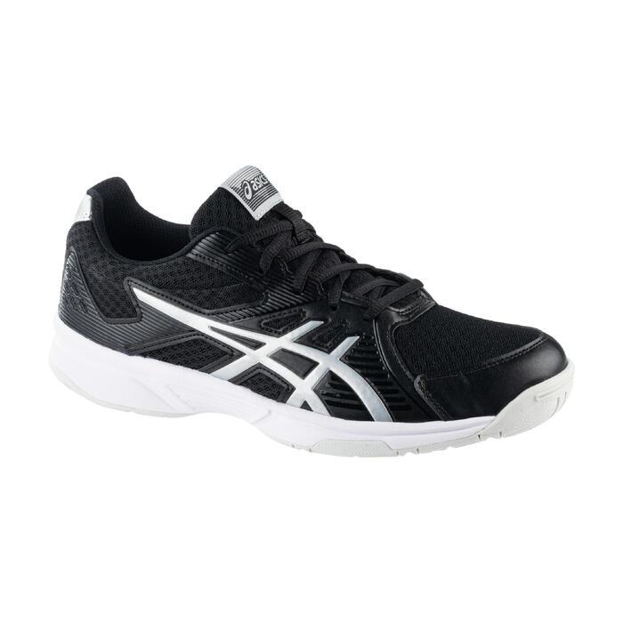 Chaussure de Badminton Squash Sports Indoor homme UPCOURT 3 Noir / Argent