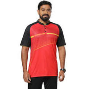 BANGALORE SPORTS JERSEY RED AND BLACK