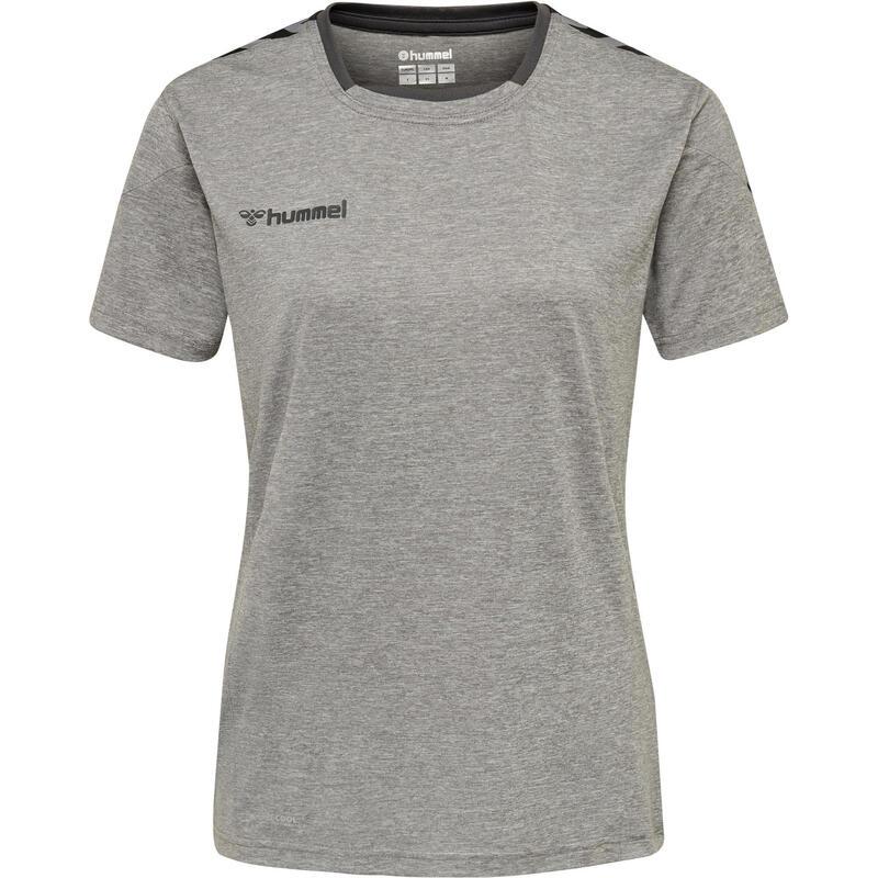 Maillot de handball Authentic femme gris/noir