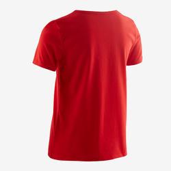 T-shirt enfant coton - Basique rouge