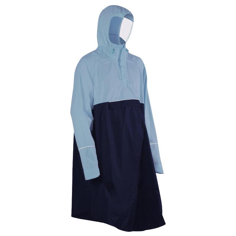 Cycling Rain Poncho 900 - Navy/Blue