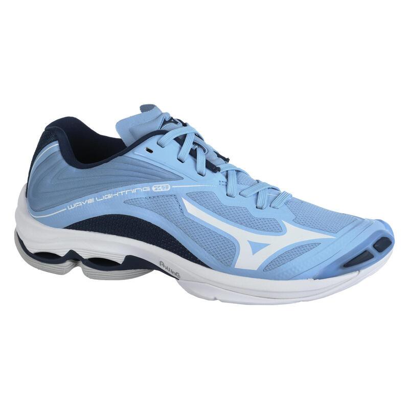 Chaussures de volley-ball Lightning Z6 Mizuno pour femme bleues claires