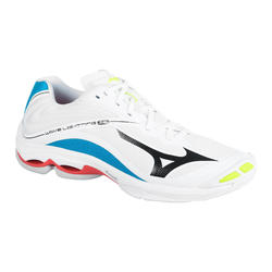 Chaussures de volley-ball Lightning Z6 Mizuno pour homme blanches