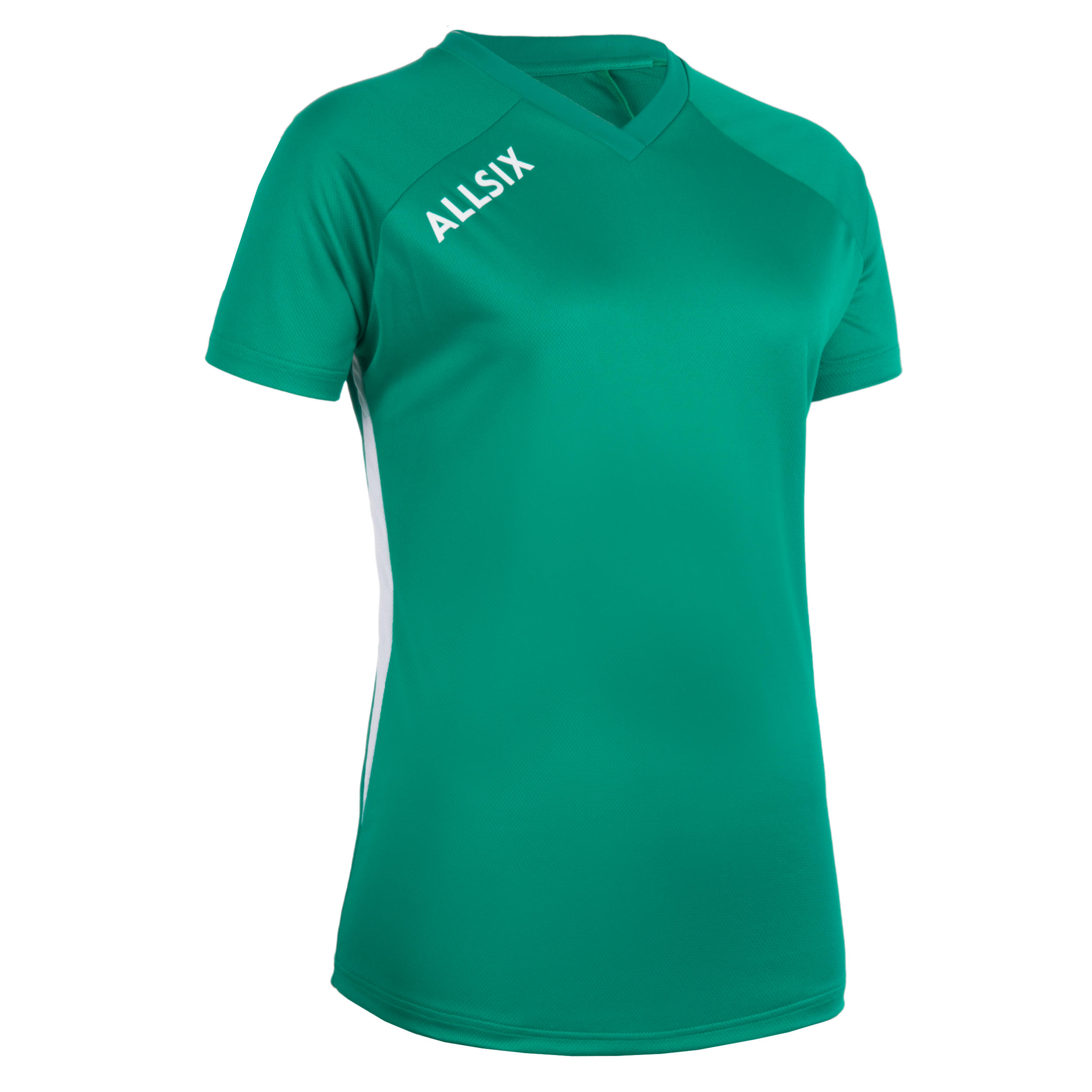 Tricou volei V100 Verde Damă imagine