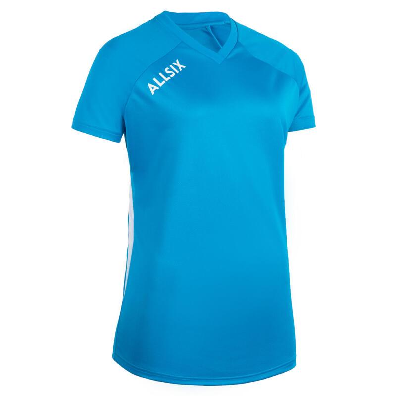 V100 Women's Volleyball Jersey - Blue