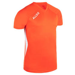 MAILLOT DE VOLLEY-BALL V100 HOMME ORANGE