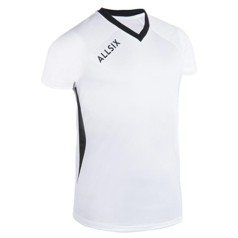 MAILLOT DE VOLLEY-BALL V100 HOMME BLANC