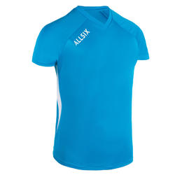MAILLOT DE VOLLEY-BALL V100 HOMME BLEU