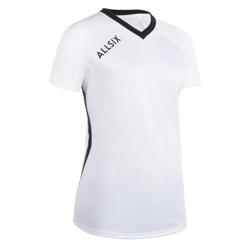 V100 Women's Volleyball Jersey - White