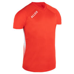 MAILLOT DE VOLLEY-BALL V100 HOMME ROUGE