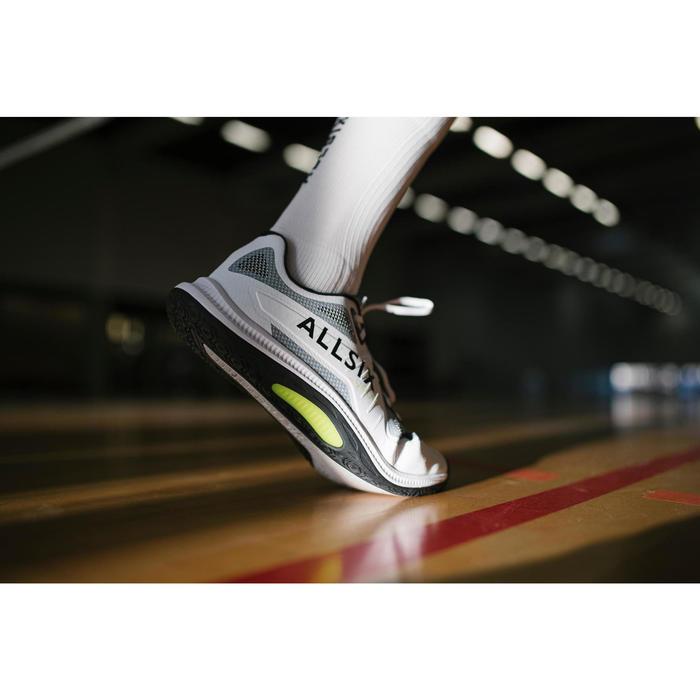 Volleybalschoenen voor heren VS900 wit/zwart/geel