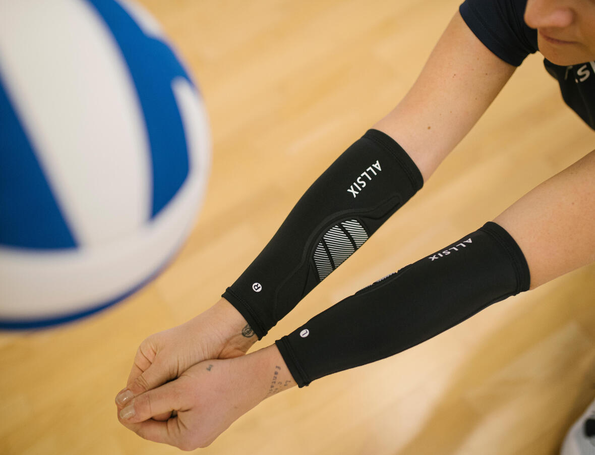 L'importance de bien gonfler son ballon de volley-ball