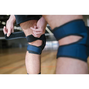 VKP 500可調式排球護膝—軍藍色