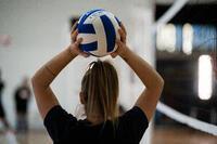כדורעף Wizzy לגילאי 15 260-280 ג' - לבן/כחול