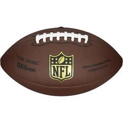 Ballon de football américain pour adulte NFL Duke replica marron