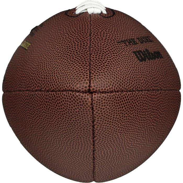 Ballon de football américain pour adulte NFL Duke replica marron