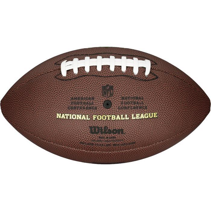 c41e6cc08656d Balón de fútbol americano NFL Duke Réplica para adultos marrón ...