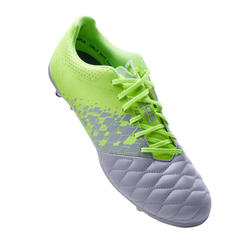 Adult Mixed Ground Football Boots Agility 500 - Grey/Yellow