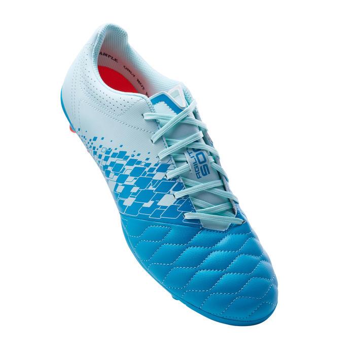 成人款混合場地足球鞋Agility 500-淺冰藍