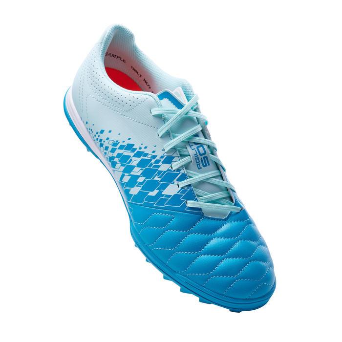 Adult Hard Ground Football Boots Agility 500 - Light Grey