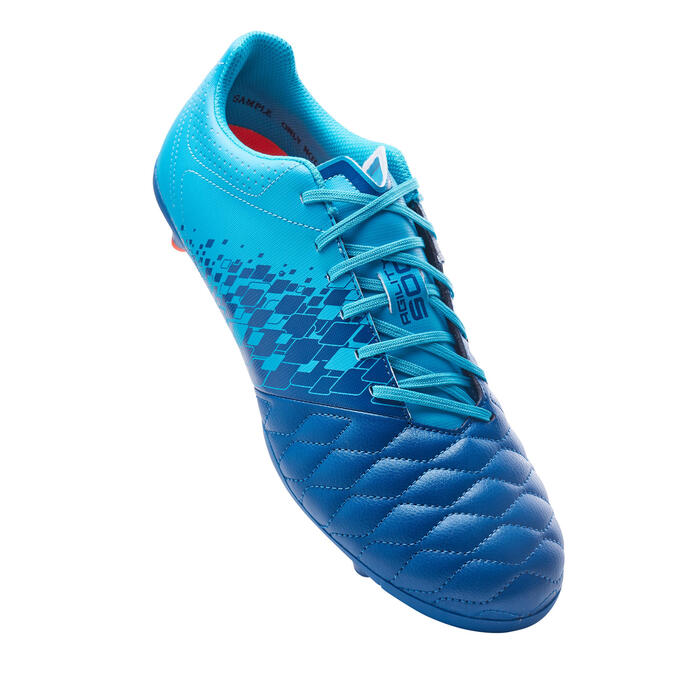 Adult Mixed Ground Football Boots Agility 500 - Petrol Blue