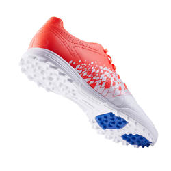 成人款硬地足球鞋Agility 500 - 紅白配色