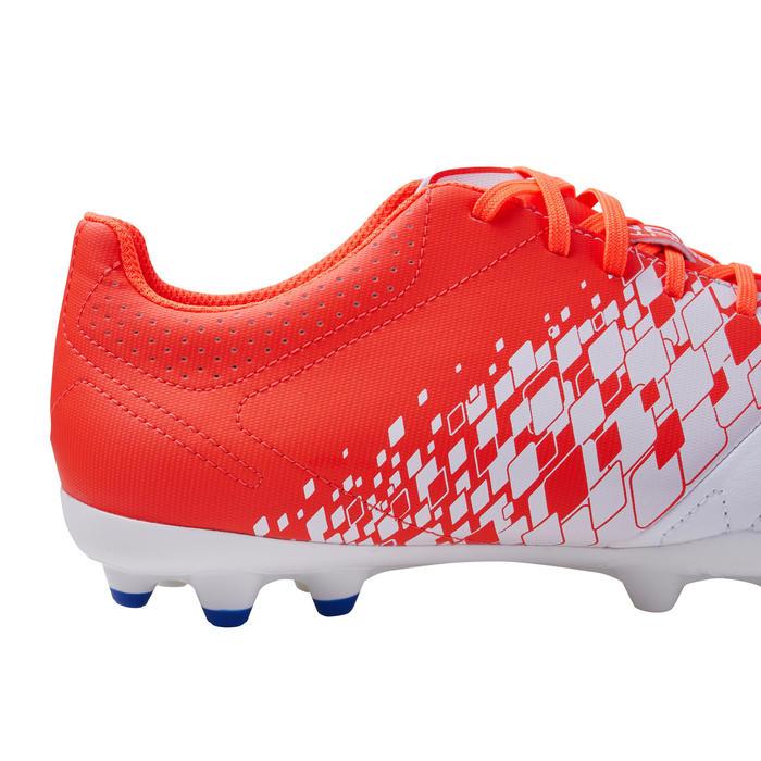 成人款混合場地足球鞋Agility 500-紅白配色