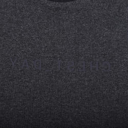 Weight Training Chest Day T-Shirt - Grey