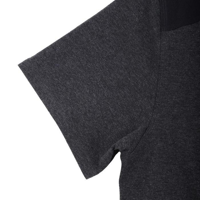 重量訓練T恤Chest Day-黑色