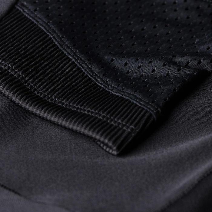 女款跑步七分褲RUN DRY + FEEL - 黑色