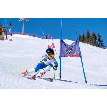 Skipak voor wedstrijdskiën kinderen 980 blauw