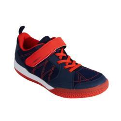 Badmintonschuhe BS160 Kinder marineblau/rot