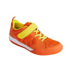 JUNIOR BADMINTON SHOES BS 160 ORANGE