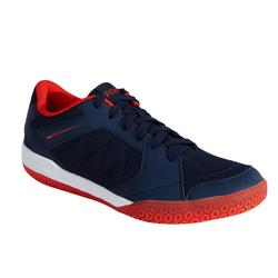 MEN BADMINTON SHOES BS 190 BLUE RED