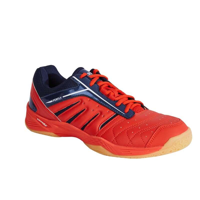 FÉRFI K.HALADÓ TOLLAS/SQUASH CIPŐ USA csapatsportok, rögbi, floorball - Férfi tollaslabda cipő BS 560 PERFLY - Floorball