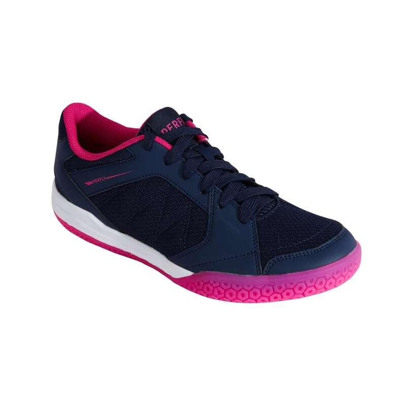 NŐI KEZDŐ TOLLAS/SQUASH CIPŐ Tenisz, Squash, Tollaslabda, Egyéb ütős sportok - Női tollaslabda cipő BS 190  PERFLY - Ütős sportok - ARTENGO