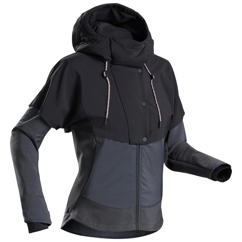 Sweat de randonnée NH500 Hybride Femme