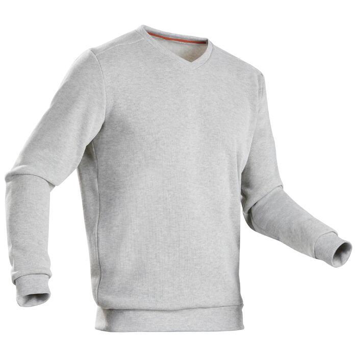 男款大自然健行立領針織衫NH150