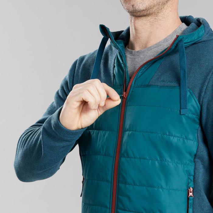 男款郊野健行混合運動衫NH100