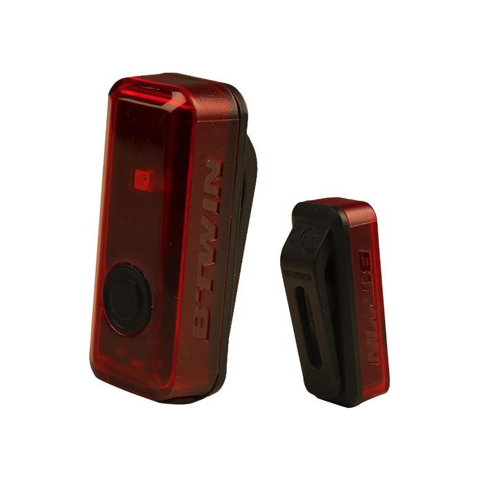 ECLAIRAGE VELO LED CL 100 ARRIÈRE ROUGE USB